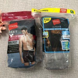 Hanes Brand New Boxer Briefs Bundle